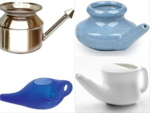 Different Neti Pots